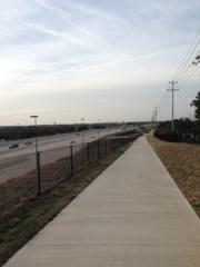 Bikeway along 183A
